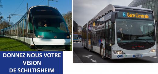 Enquête Mobilité et Alternatives Trams à Schiltigheim
